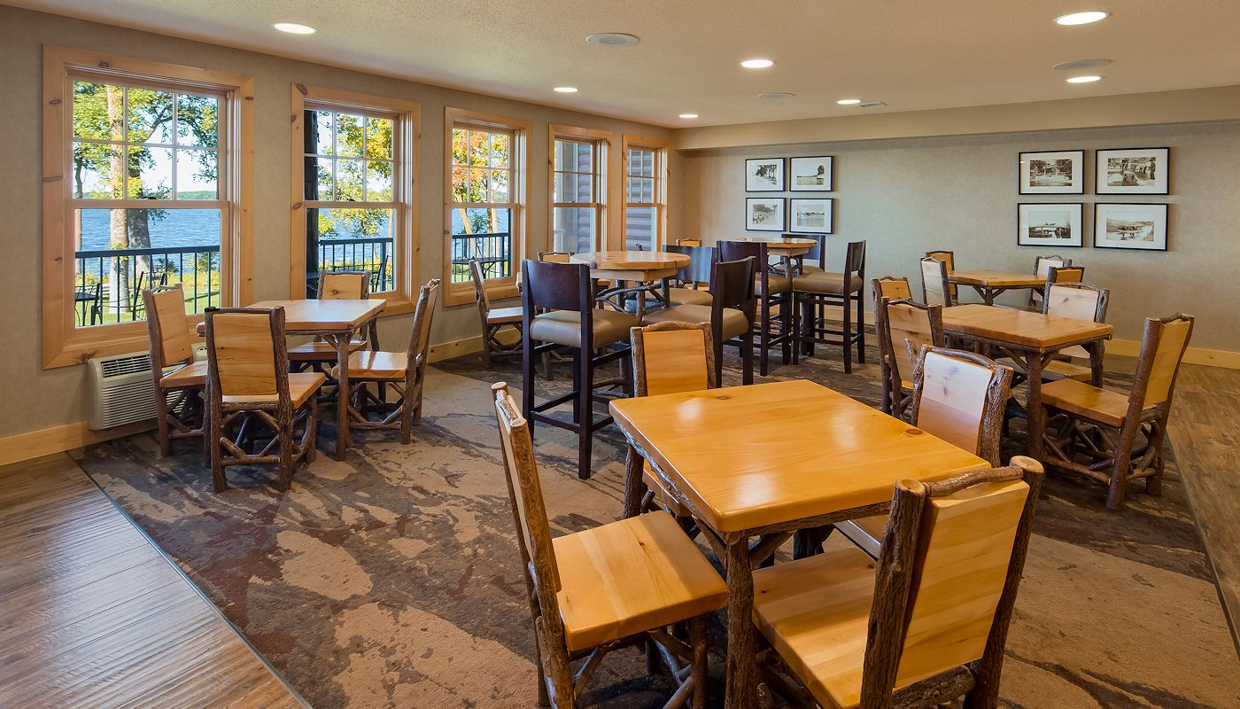 Daily Free Hot Breakfast Buffet - The Lodge on Lake Detroit