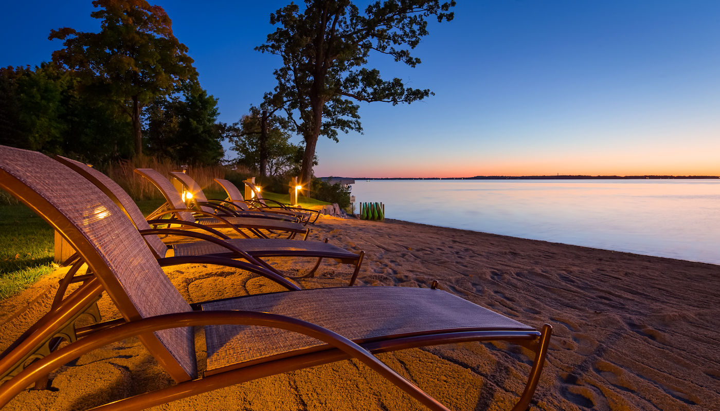 Come for the sunsets, stay for the experience at Lodge on Lake Detroit