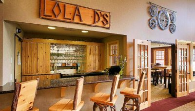 LOLA D's Bar & Bistro- The Lodge on Lake Detroit