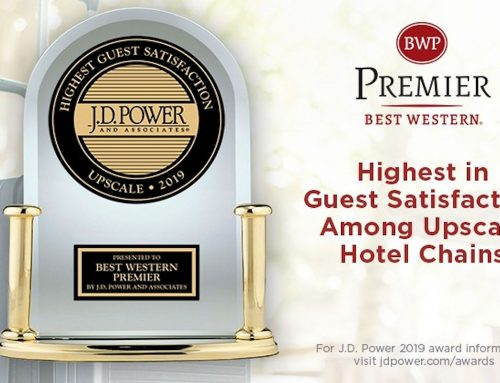Best Western Premier Number 1 in J.D. Power 2019 Upscale Segment North America Hotel Guest Satisfaction