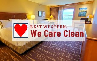 Best Western Introduces We Care Clean Pogram at The Lodge on Lake Detroit