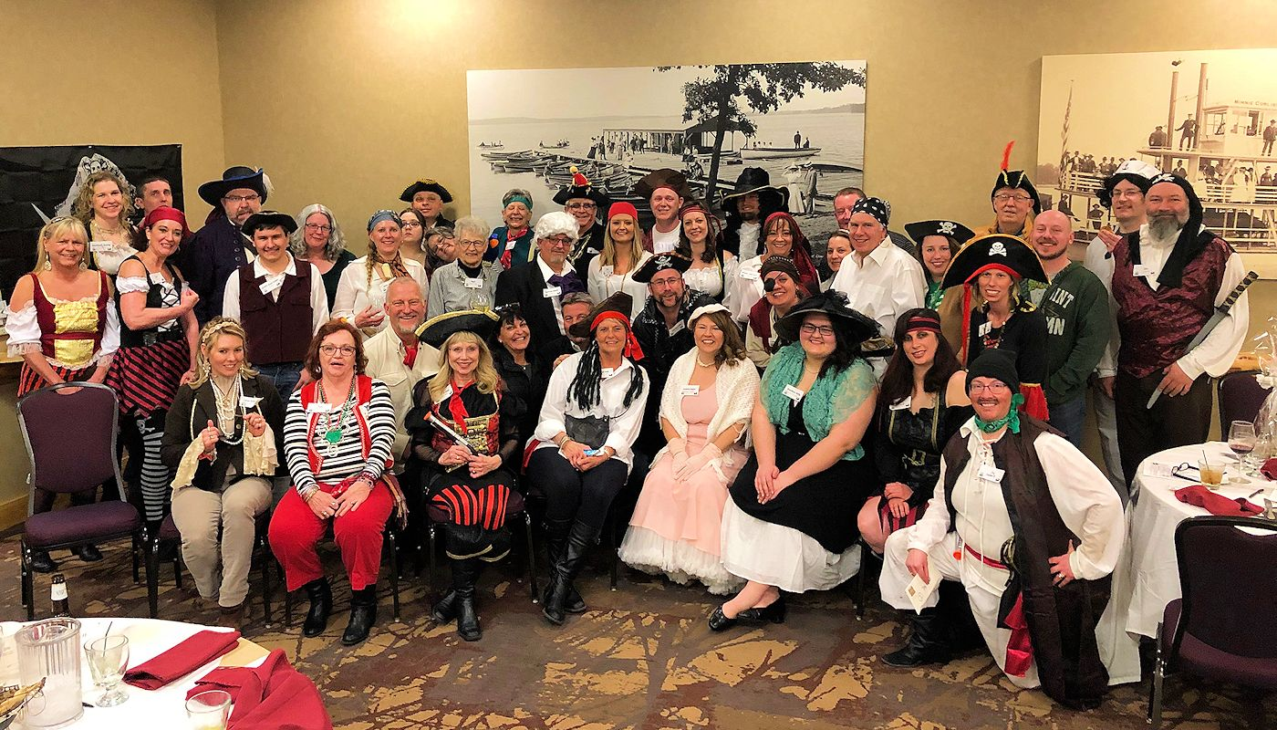 Murder Among the Mateys - Murder Mystery at The Lodge on Lake Detroit