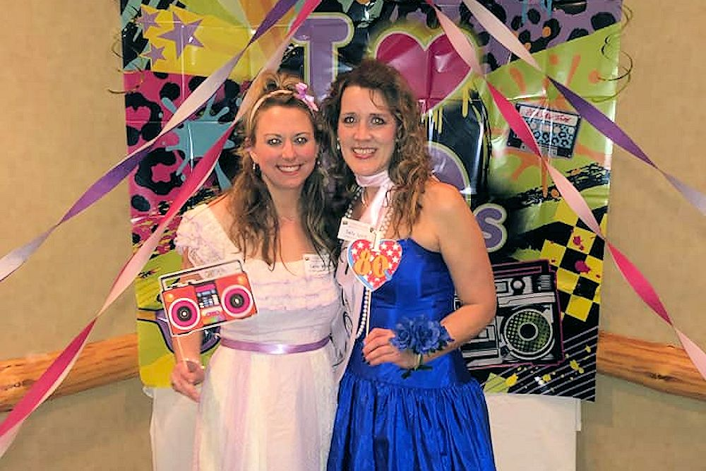 Totally Rad, 80's Prom Gone Bad Murder Mystery - Murder Mystery at The Lodge on Lake Detroit