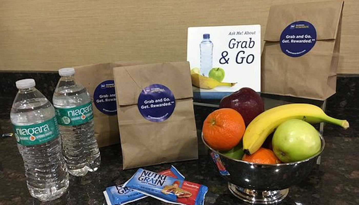 Free Daily Grab & Go Breakfast Bags at The Lodge on Lake Detroit