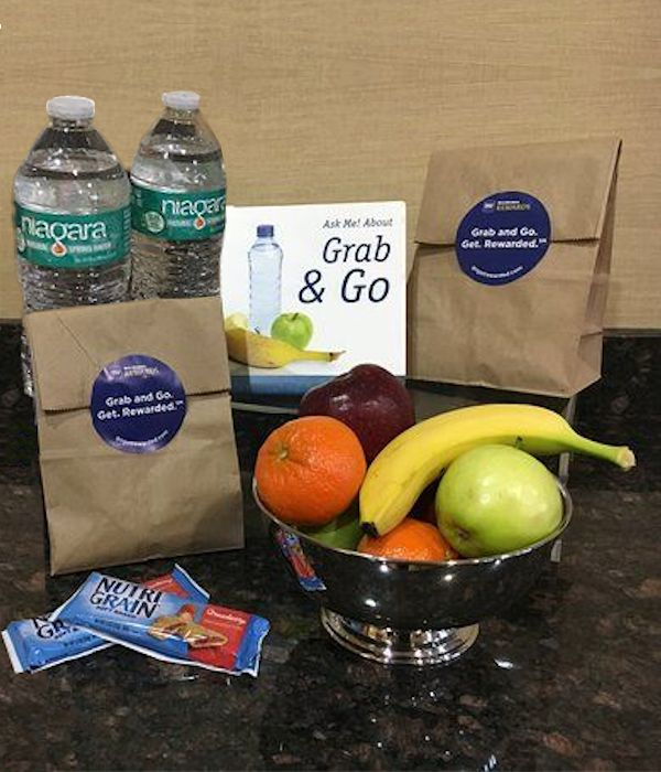 Grab & Go Breakfast Bags at The Lodge on Lake Detroit