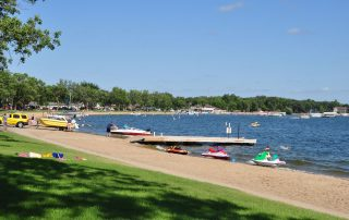 Detroit Lakes City Beach Near The Lodge on Lake Detroit