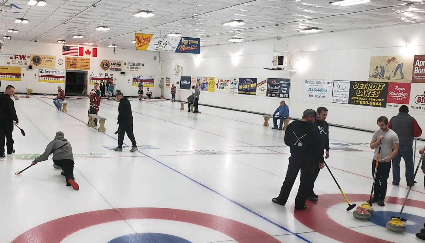 Lakes Curling Club near The Lodge on Lake Detroit - home of Detriot Lakes Youth Hockey & Lakers
