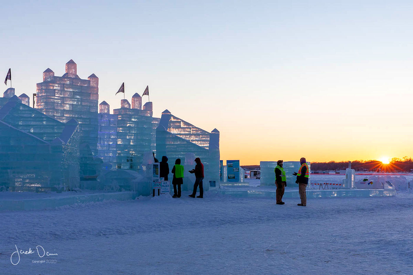 Detroit Lakes Polar Fest Ice Palace photo by Jack Davis Photography - Detroit Lakes, Minnesota