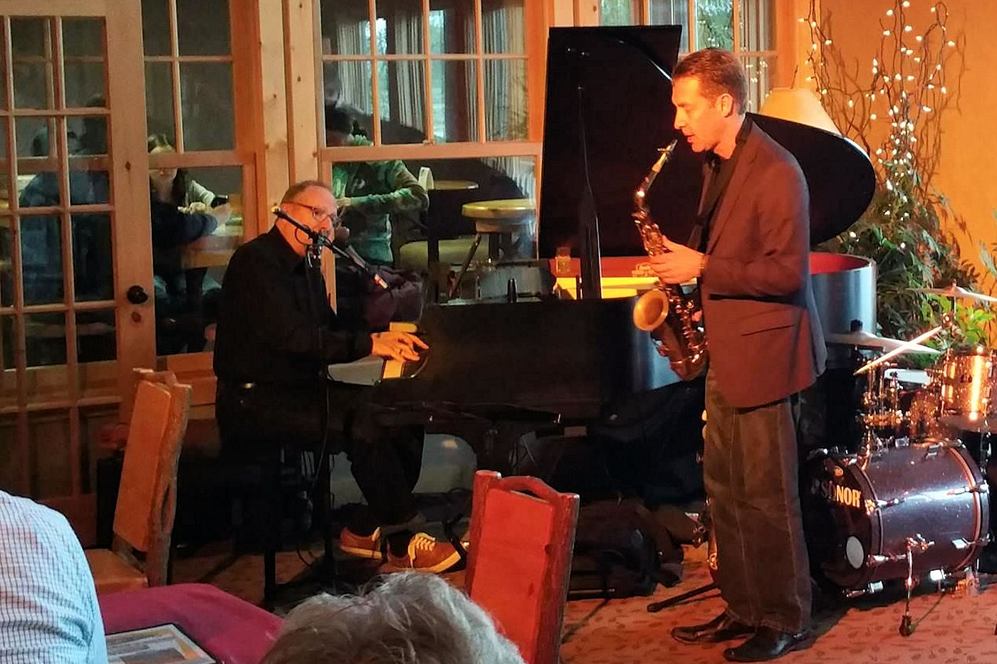 David Ferreira on Piano with Russ Peterson on Sax