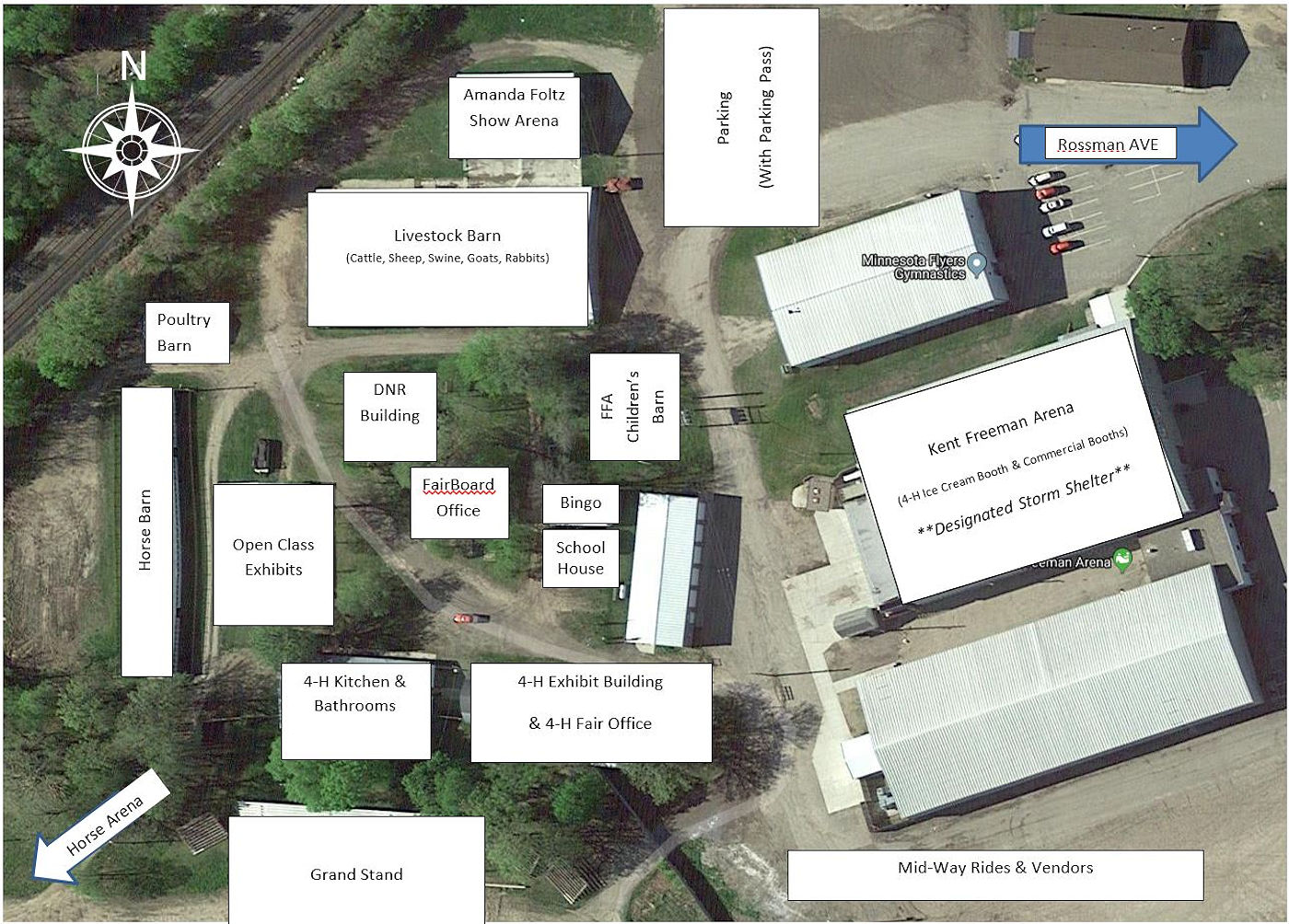 Becker County Fair Layout - Detroit Lakes MN Local Guide
